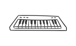 Pianoles Keyboardles
