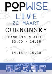 Popwise Live Curnonsky 22 maart 2020