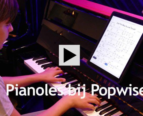Piano leren spelen bij Popwise